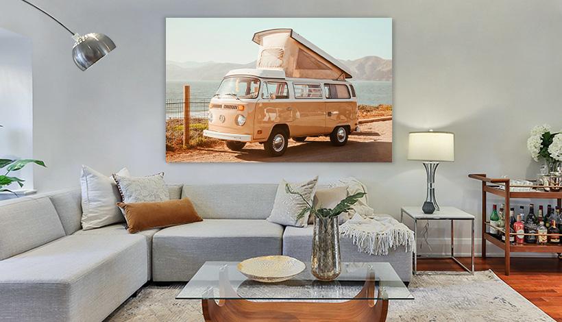 acrylglas bild wohnzimmer