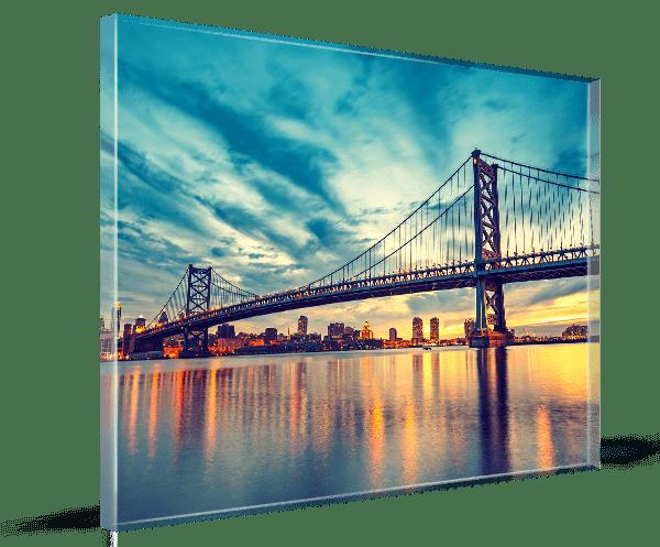 Bild hinter Glas in 8 mm Ausführung