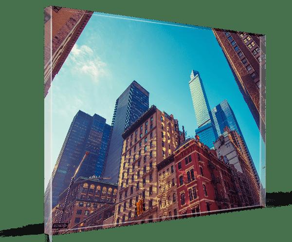 Foto auf Glas in 8 mm Ausführung