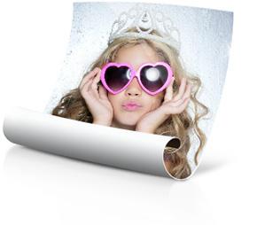 Foto-Poster Prinzessin