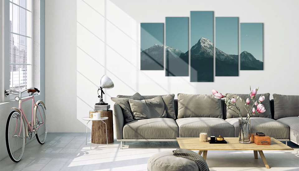 mehrteiler acrylglas wohnraum 1